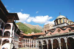 Saint John of Rila Monastery, Bulgaria.  Royalty Free Stock Image