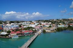 St Johns - Antigua royalty free stock images