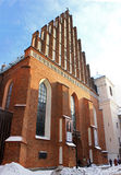 Saint  John's Cathedral in Warsaw Royalty Free Stock Photos