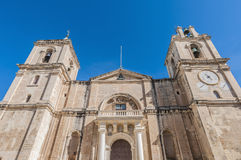 Saint John's Co-Cathedral in Valletta, Malta Royalty Free Stock Image