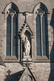 Saint John's statue Stock Photo