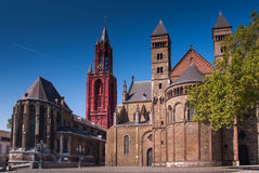 Saint John and Saint Servaas Maastricht Royalty Free Stock Photography