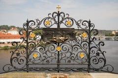 Saint John van Nepomuk-Hulp in Praag stock fotografie