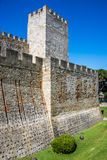 Saint Jorge castle in Lisbon, Portugal. Stock Photo
