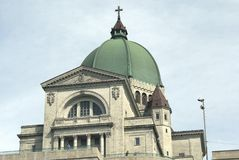 Saint Joseph's Oratory details in Montreal, Quebec, Canada Stock Photo