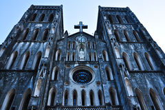 Saint Joseph Cathedral Royalty Free Stock Photos