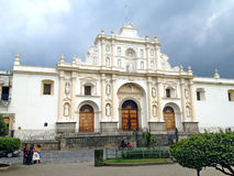 Saint Joseph Cathedral  in Antigua Guatemala Stock Photos