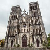 Saint Joseph Cathedral, Hanoi Stock Photography