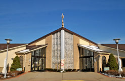Saint Joseph Catholic Church. Amherst Ohio royalty free stock photography