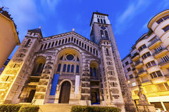 Saint Joseph Church in Grenoble Stock Photo