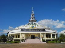 Saint Joseph church Thailand. Stock Photography