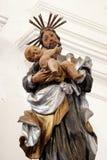 Saint Joseph con il bambino Gesù Immagini Stock