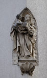 Saint Joseph holding baby Jesus Royalty Free Stock Image