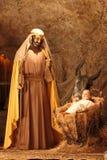 Saint Joseph and Jesus Christ Stock Photo