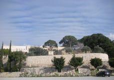 Saint Joseph kloster, gravvalv av helgonet Rafqa, Jrabta, Batroun, Libanon royaltyfria foton