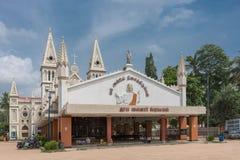 Saint Joseph kyrka i Dindigul fotografering för bildbyråer