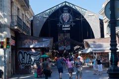 Saint Joseph Market Rambla Barcelona Royalty Free Stock Photo