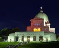Saint joseph oratory. Sitting on the top of Mount-royal in Montreal is the Saint Joseph Oratory Stock Photo