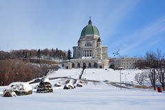 Saint Joseph Oratory de bâti royal Image libre de droits
