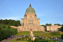 Saint Joseph Oratory, Montreal, Canada Royalty Free Stock Photo