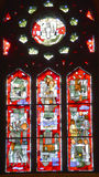 Saint joseph oratory stained glass window Royalty Free Stock Photography