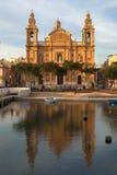 The Saint Joseph Parish Church. Malta Stock Image