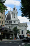 Saint Joseph's Cathedral. On the corner of San Fernando and Market Streets in San Jose California Stock Photos
