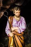 Saint Joseph's. Saint Joseph, father of Jesus, Christmas Royalty Free Stock Image