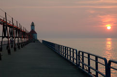 Saint Joseph's lighthouse Stock Images
