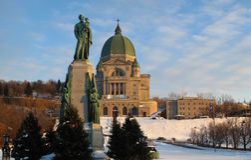 Saint Joseph's Oratory Royalty Free Stock Photos