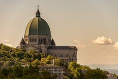 Saint Joseph`s Oratory In Montreal Stock Images