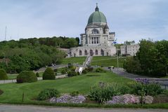 Saint Joseph's Oratory in Montreal, Canada Royalty Free Stock Photography