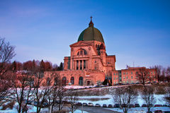 Saint Joseph's Oratory of Mount Royal Stock Images