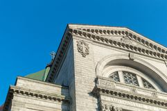 Saint Joseph`s Oratory of Mount Royal royalty free stock photos