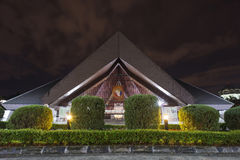 Saint Josephs Cathedral Kuching Malaysia. A night view of the Saint Josephs Cathedral or church Kuching Malaysia Stock Images