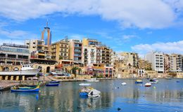 Saint Julians, Malta Stock Photo
