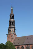 Saint Katharinen church in Hamburg Stock Photos