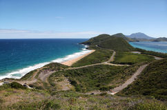 Saint Kitts and Nevis islands Royalty Free Stock Photos