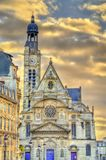 Saint-$l*Etienne du Mont Church στο Παρίσι, Γαλλία Στοκ φωτογραφία με δικαίωμα ελεύθερης χρήσης