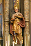 Saint Ladislaus I of Hungary Stock Images