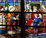 Saint Lambert of Maastricht Stock Images