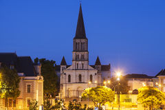 Saint Laude Church in Angers Stock Image