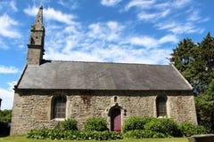 Saint Laurent chapel in Plouguerneau Stock Photos