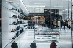 Saint Laurent-de winkel in Emquatier, Bangkok, Thailand, brengt 8, 2018 in de war Royalty-vrije Stock Afbeelding