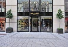 Saint Laurent flagship front store Stock Photo