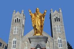 Saint Laurent kościół Obraz Royalty Free