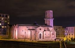 Saint Laurent kyrktar i Marseille Provence, Frankrike Arkivbild