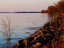 Saint-Laurent river Royalty Free Stock Image