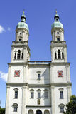 Saint Lawrence Basilica of Kempten in Germany Royalty Free Stock Photo