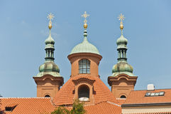 Saint Lawrence Church located at Prague Royalty Free Stock Photography